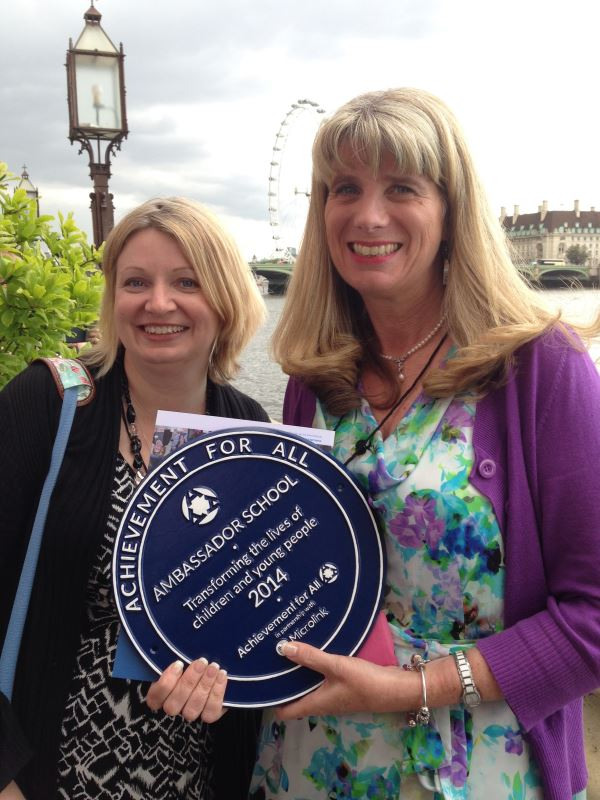 Mrs Terrey and Mrs Chaplin at the House of Lords!